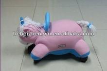 roller plush toy kids cartoon car /baby walking car