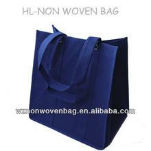 2014 custom brand shopping handbag promotional non woven bag logo
