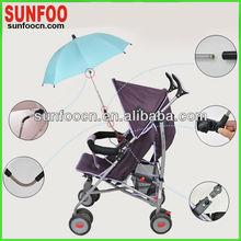 Clamp on umbrella