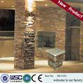 Wall revestimento em pedra/imitação de pedra de revestimento da parede/parede de pedra do molde hs- w002