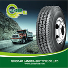 Lander tire, LS556 295/75R22.5, commercial truck tire,used tire exporter