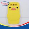 2013 New design Rubber duck silicone case for Sumsung S4 mini I9190