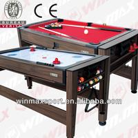 2014 Mulit Game Biliards/foosball Table for indoor games
