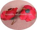 hermosas flores artificiales mini rosas