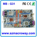 Intel placas base g31 g31-m7 mainboard