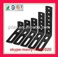 personalizado que carimba o suporte de ângulo ajustável suportes de prateleira de aço plano suporte de ângulo