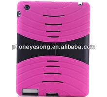 silicon with pc design for ipad mini case