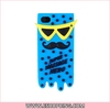 Stylish Super Massage Hero Soft Back Case Shell Cover for Apple for iphone 4 Blue