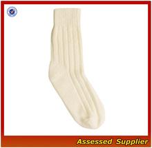Milk White Women Elegant Design Cashmere Socks/Mellow Style Women Socks