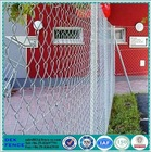 Fine galvanized pvc coated chain link fence extensions