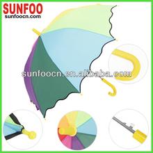 Rainbow color brand umbrella for children