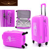 Hard shell luggage custom design luggage upright