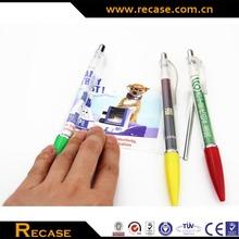 Retractable Cheap Flyer Pen Plastic Banner Pen for Promotion