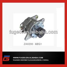 diesel engine alternator Isuzu 6BG1 for ZAX200 excavator