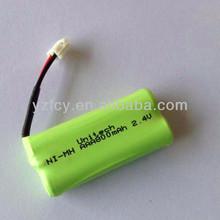 2.4V 800mAh NiMH Battery Packs and AAA nimh battery