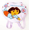 cartoon dora plush bag for kids