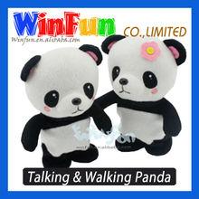 Battery Operated Panda Plush Toys Walking And Talking Panda Toy
