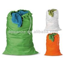 wholesale nylon drawstring laundry bags
