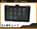 5.0''portable gps del coche, coche reproductor de dvd, coche negro de la caja