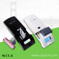 2014 Wholesale -famous brand mobile power bank rechargeable external battery charger mobile phone unlock box for all phones