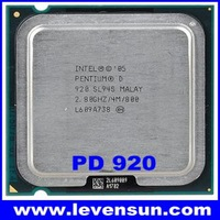 Used pull clean intel pentium D PD-920 2.80GHz 2*2M,800MHz,775pin,65nm dual core cpu processor
