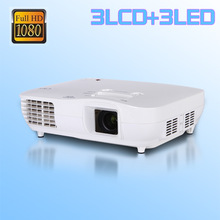 Low lcd projector price Home Theater 1080P projector led luminous Full HD LED Projector 1920x1080