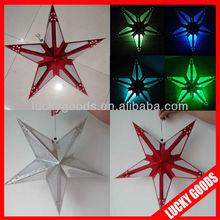 star shaped make christmas paper lantern for sale