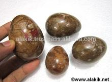 Petrificado de madera huevos : venta al por mayor de la piedra preciosa de huevos y bolas