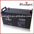de coche batería 12v100ah seco de la célula de la batería de almacenamiento