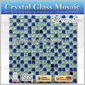 42*20mm vermelho mosaico de vidro tijolo de vidro para a parede e piso decoração
