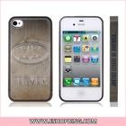 BATMAN Ultra-slim Metal & Plastic Case for iphone 4S Grey