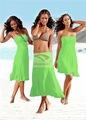 2014 europeia quente da praia verão vestido mulheres de peito vestido do envoltório saia