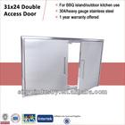 Flush Mount Stainless 304 Kitchen Island Door