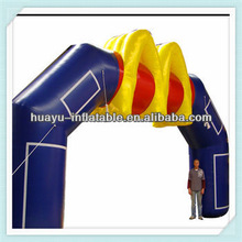 Special Popular Design Blue Red Yellw Hot New Inflatable Arches Fashion Inflatable Advertising Arch M FONT For Event For Sale