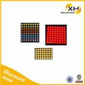 Amostra grátis de interior e exterior usando 5*7 8*8 16*16 alto brilho levou dot matrix