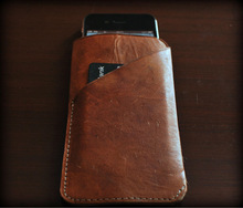 Genuine leather iphone covers and cases