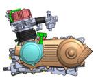 320CC ATV Engine like to ATV, around 400CC with reverse CVT or manual gear