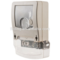 Plastic electronic enclosure DDS-009-3 single-phase outdoor electric meter junction box