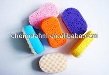pu bath massage sponge