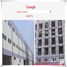 lightweight exterior wall panels/lightweight fireproof partition wall panel/aac precast interior wall panel