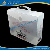 large PP box baby blanket packaging box