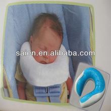 Gel memory foam personalized travel children neck pillows