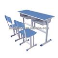 Table et bureau d'études bleu, meubles
