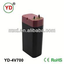 4v0.7ah lead acid battery - popular square shape battery 4v0.7ah in pakistan