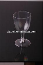 Disposable plastic wine glasses ,champagne glass