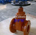 Ductile iron AWWA C509/BS5163/DIN3352 stem gate valve pn16