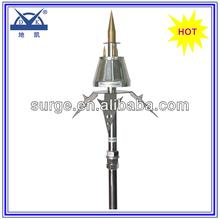 Pre-discharge lightning rod design