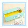 2015 new fashion paper pen boxes/ kids personalized pencil box,cheap pen box