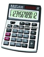 12-digits electronic solar calculator KT-323