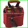 enviromental protection single bottle cooler bag